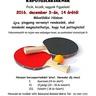Mikulás Kupa - Házi pingpong verseny