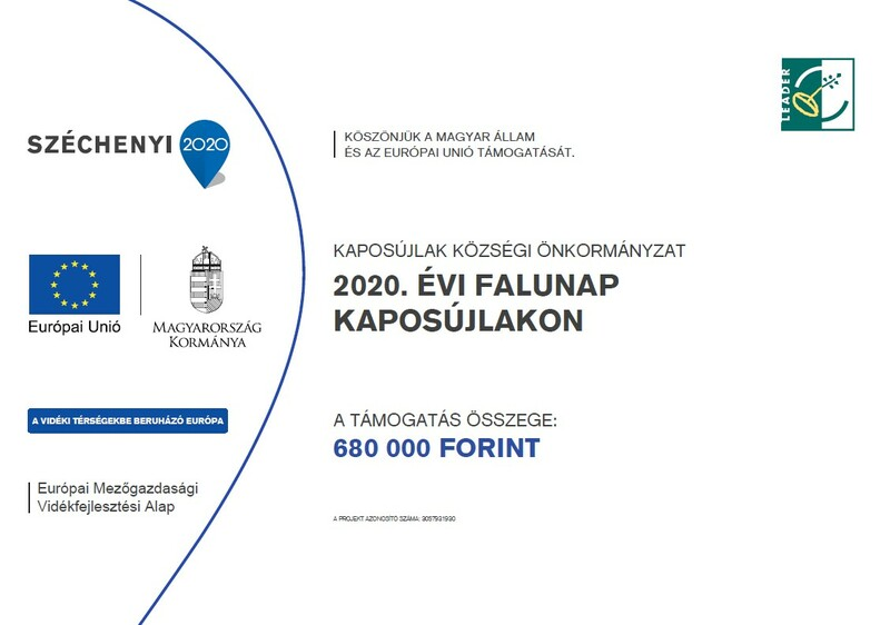 Falunap 2021 tábla