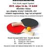 Házi pingpong verseny