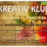 Kreatív Klub - Őszi díszek, levélképek